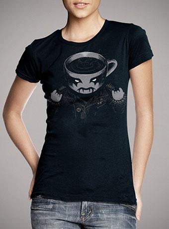Женская футболка Black Metal Coffee
