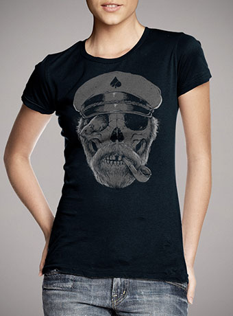 Женская футболка Black Thorn