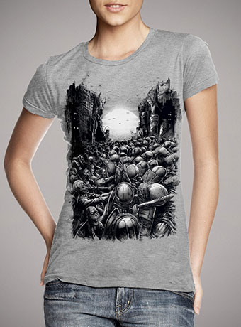Женская футболка Chaos Infected