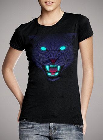Женская футболка Electric Panther