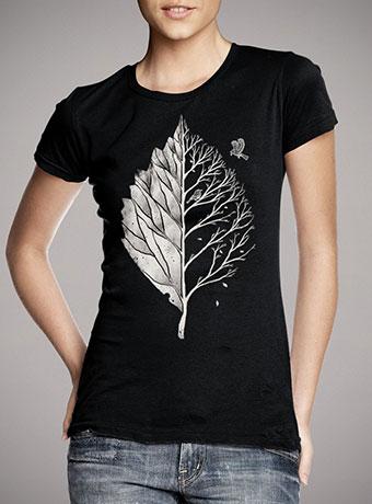 Женская футболка Leaf of Life