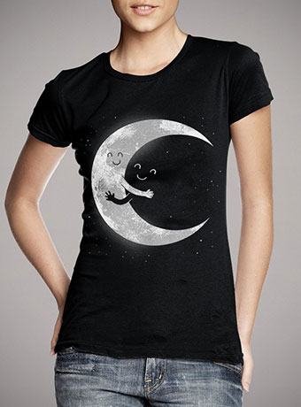 Женская футболка Moon Hug