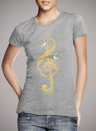 Женская футболка Natural Melody
