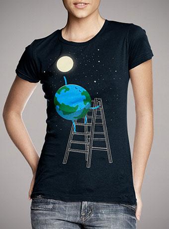 Женская футболка Reach the Moon