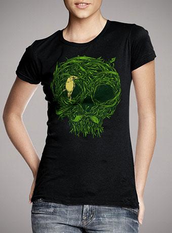 Женская футболка Skull Nest