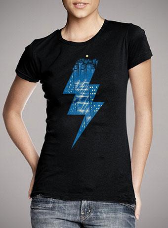 Женская футболка Thunder City