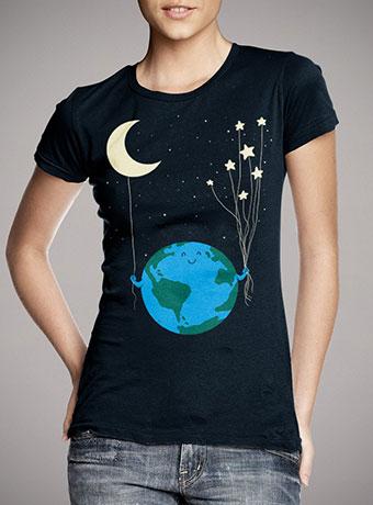 Женская футболка Under the Moon and Stars