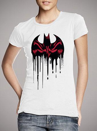 Женская футболка Batman Reflection