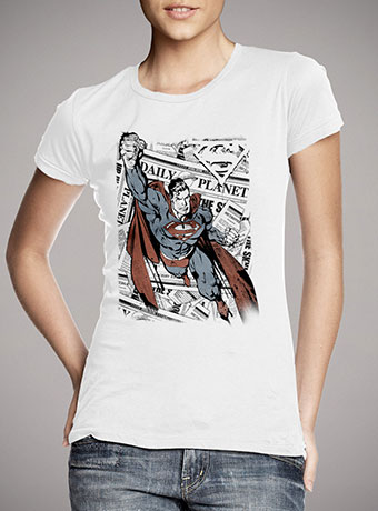 Женская футболка Superman Tabloids