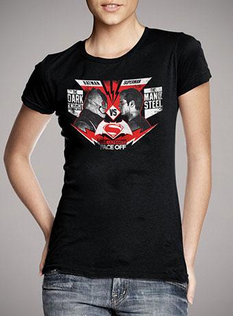 Женская футболка Ultimate face off black