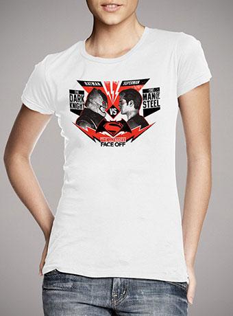 48bee82880ede Женская футболка Ultimate face off white — продажа: цены, фото ...