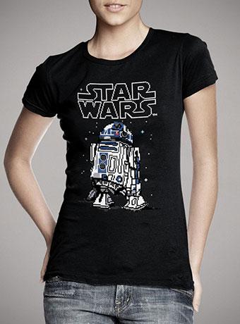 Женская футболка 8-Bit R2D2