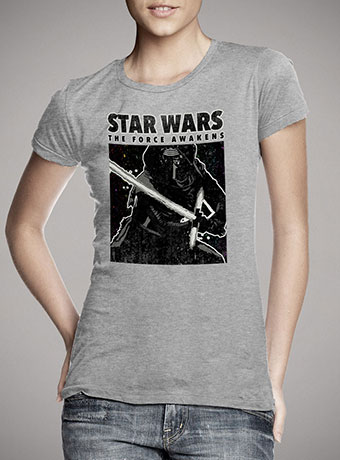 Женская футболка Wanted Kylo Ren