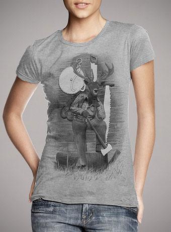 Женская футболка In the Woods