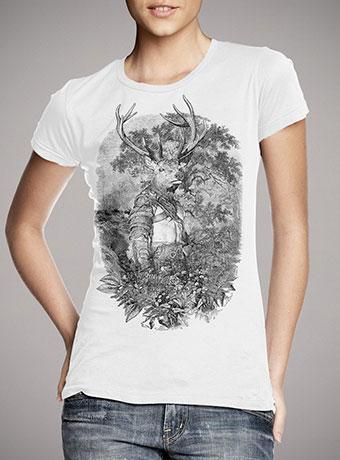 Женская футболка Stagmanok