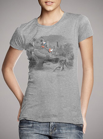 Женская футболка Teddy's Back!