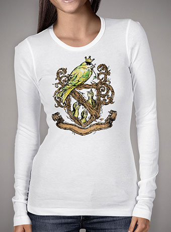 Женская футболка с длинным рукавом Birds Crest