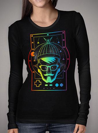 Женская футболка с длинным рукавом The Future Geek
