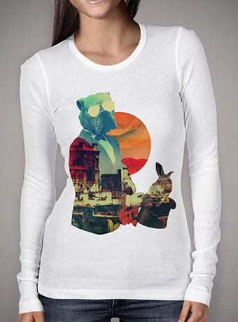 Женская футболка с длинным рукавом Abracadabra