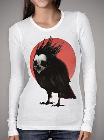 Женская футболка с длинным рукавом Birdie