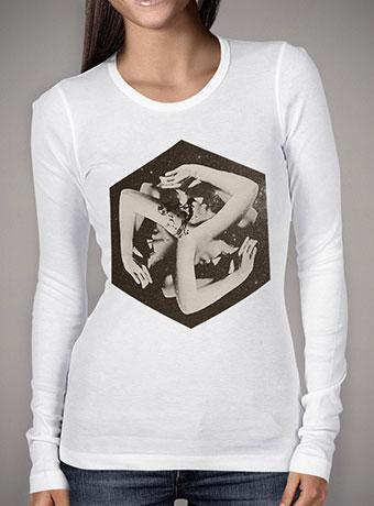 Женская футболка с длинным рукавом Box