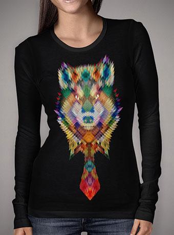 Женская футболка с длинным рукавом Corporate Wolf