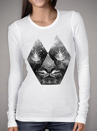 Женская футболка с длинным рукавом Cosmic Tiger