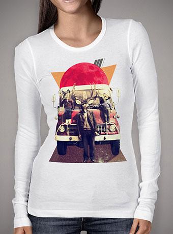 Женская футболка с длинным рукавом El Camion