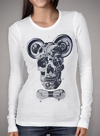 Женская футболка с длинным рукавом Mechanics