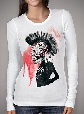 Женская футболка с длинным рукавом Punk