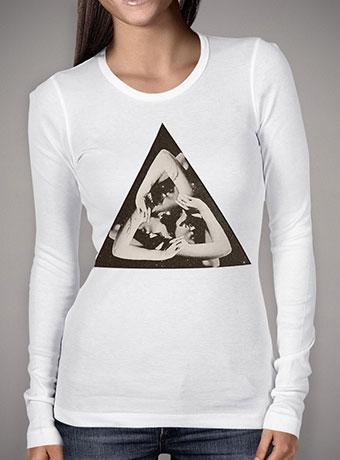 Женская футболка с длинным рукавом Triangle