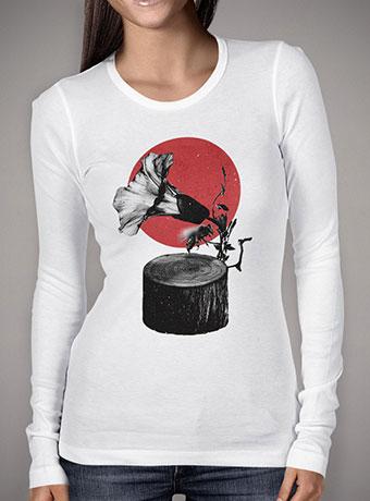 Женская футболка с длинным рукавом Gramophone