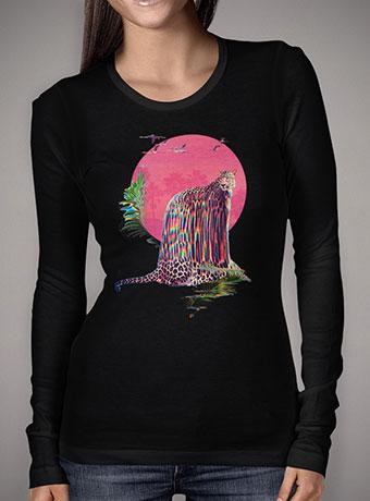 Женская футболка с длинным рукавом Jaguar