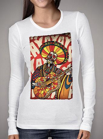 Женская футболка с длинным рукавом Mariachi