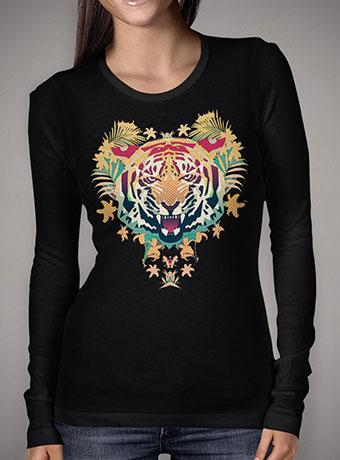 Женская футболка с длинным рукавом Tiger