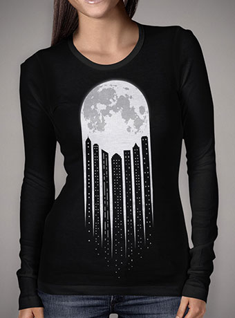 Женская футболка с длинным рукавом Moon-City