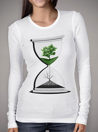 Женская футболка с длинным рукавом We Are Drying Out