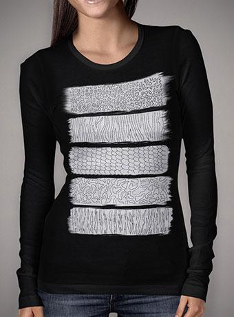 Женская футболка с длинным рукавом Wild Abstraction