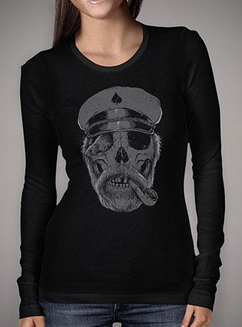 Женская футболка с длинным рукавом Black Thorn