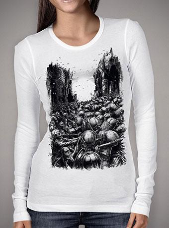 Женская футболка с длинным рукавом Chaos Infected