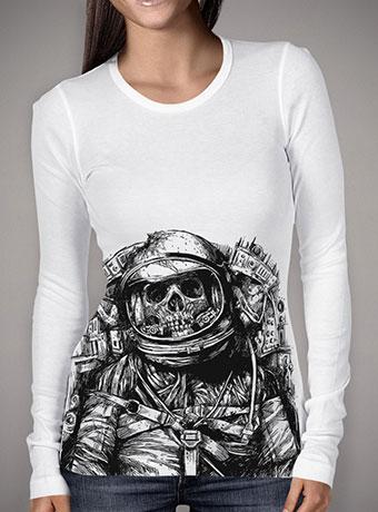 Женская футболка с длинным рукавом Dead Astronaut