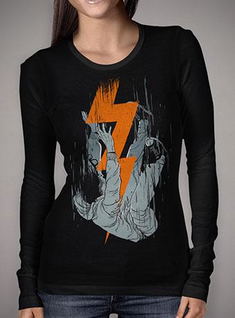 Женская футболка с длинным рукавом Fall Effect