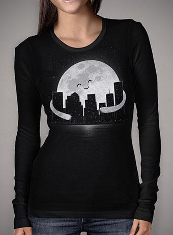 Женская футболка с длинным рукавом Goodnight