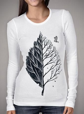 Женская футболка с длинным рукавом Leaf of Life