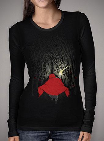 Женская футболка с длинным рукавом Lost in the Forest