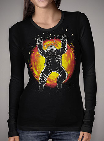 Женская футболка с длинным рукавом Lost in the Space