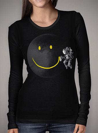 Женская футболка с длинным рукавом Make a Smile