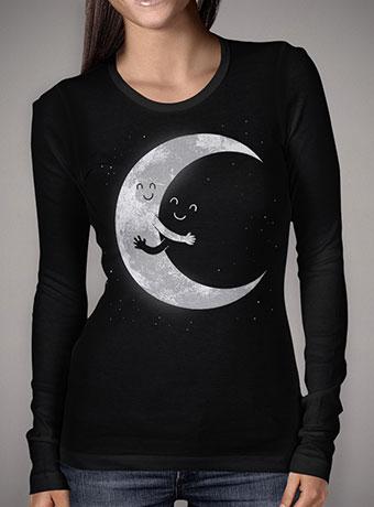 Женская футболка с длинным рукавом Moon Hug