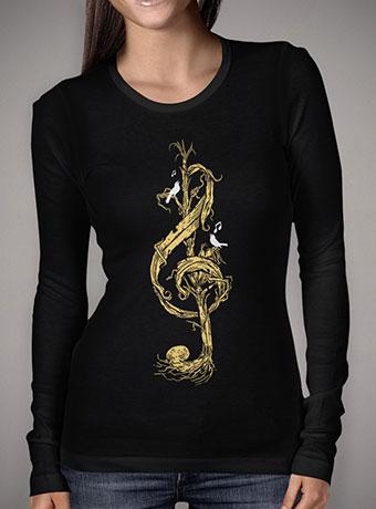 Женская футболка с длинным рукавом Natural Melody