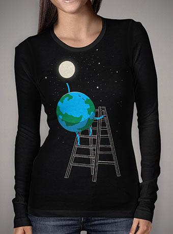 Женская футболка с длинным рукавом Reach the Moon